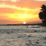 Beach Sunset Image