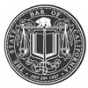 The State Bar of California seal